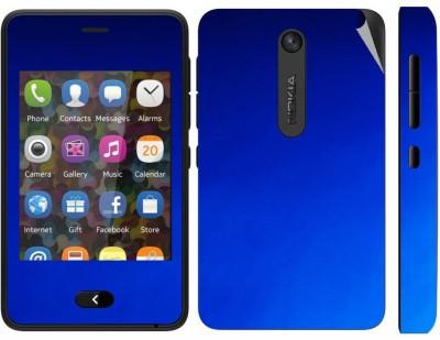 Snooky 164859 Nokia Asha 501 Mobile Skin(Blue)