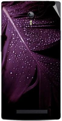 Snooky 162973 OPPO Find 7a X9006 Mobile Skin(Purple)