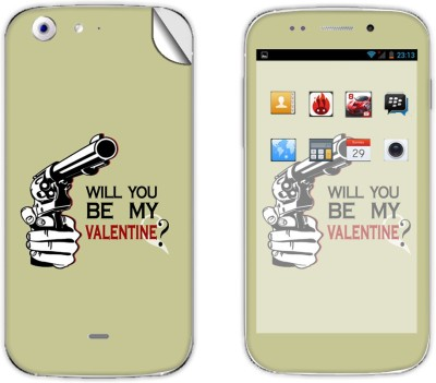 Skintice Skin51586 Micromax Canvas 4 A210 Mobile Skin Grey  available at Flipkart for Rs.299