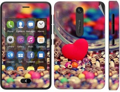 Snooky 164428 Nokia Asha 501 Mobile Skin(multicolour)