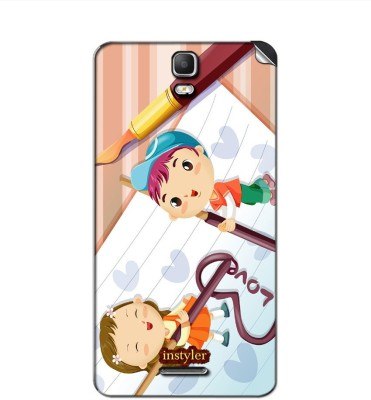 instyler DS63329 Micromax Canvas Hd Plus A190 Mobile Skin(Multicolor)