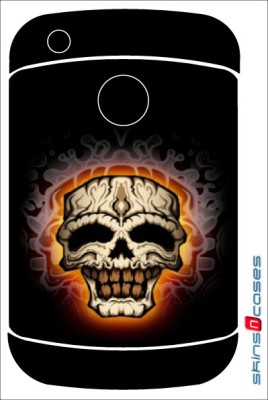 Skins N Cases BlackBerry 9330 BlackBerry 9330 Mobile Skin(Orange)