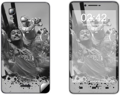Skintice SKIN49793 Micromax Doodle 3 A102 Mobile Skin grey available at Flipkart for Rs.299