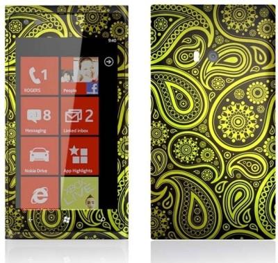 Topskin Nokia Lumia-900-TS-101 Nokia Lumia-900 Mobile Skin(Multicolor)