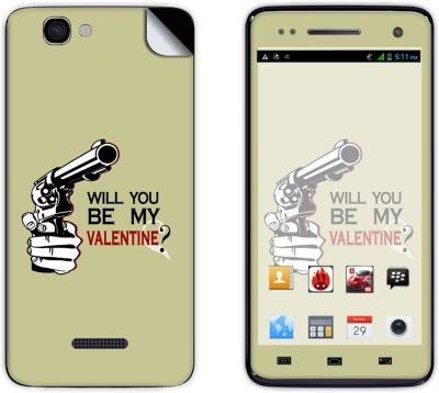 Skintice Skin51592 Micromax Canvas 2 Colors A120 Mobile Skin Grey available at Flipkart for Rs.299