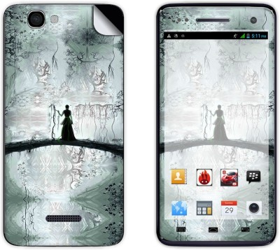 Skintice Skin51784 Micromax Canvas 2 Colors A120 Mobile Skin Grey available at Flipkart for Rs.299