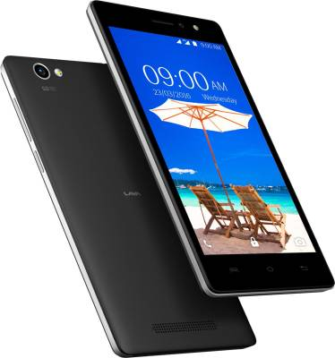 Lava A89 (Black, 8 GB)