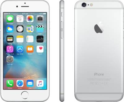 Apple iPhone 6 (Silver, 16 GB)
