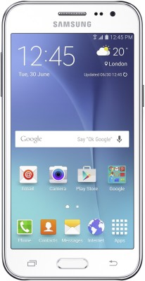 Samsung Galaxy J2 (White, 8 GB)(1 GB RAM) at flipkart