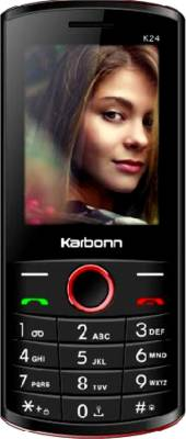 Karbonn K24 (Black and Red)