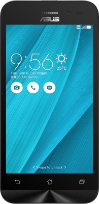 Asus Zenfone Go 4.5 LTE  Silver, Blue, 8   GB  1   GB RAM  available at Flipkart for Rs.6694