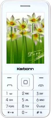 Karbonn K-phone (White + Champagne)
