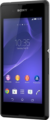 Sony Xperia E3 (Black, 4 GB)(1 GB RAM) at flipkart
