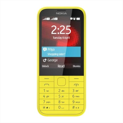 Nokia 225(Bright Yellow) 1