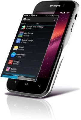 Zen Ultrafone 303 Quad 4GB With Ubon (Black and Silver, 4 GB)