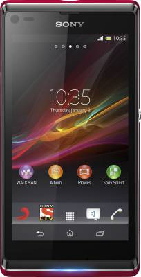 Sony Xperia L (Rose Red, 8 GB)
