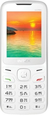 Intex Ultra 3000(White, Orange)