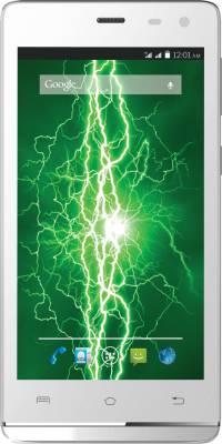 Lava Iris Fuel 50 With Flip Cover (White, 8 GB)