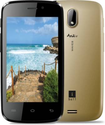 iBall Andi 4F Waves (Black & Milky Silver���������, 4 GB)