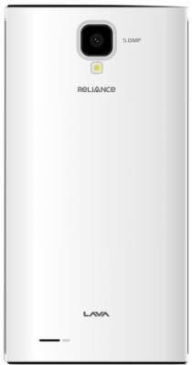 Reliance Lava EG 932 (White, 4 GB)