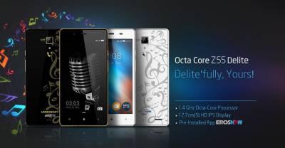 Videocon OctaCore Z55 Delite with 16 GB Card (Black Gold, 8 GB)