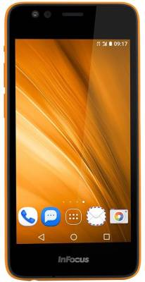InFocus Bingo 20 (Black and Orange, 8 GB)