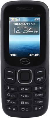 Infix N-4 Dual Sim Multimedia 2.4 Inches (Black)