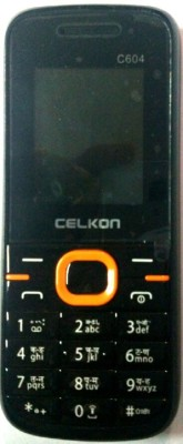 Celkon C604(Black Orange) 1