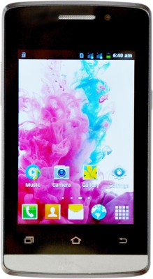Ginger Monix Android G310 Kingfisher By Camerii (Black, 512 MB)(1 GB RAM)