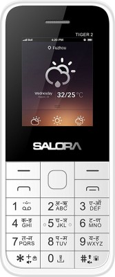 Salora TIGER-2(White & Silver)