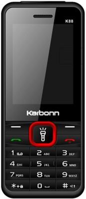 Karbonn K88 Dual Sim - Black & Red(Black)