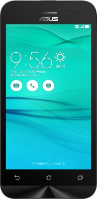 Asus Zenfone Go  2ndGen   White, 8   GB  1   GB RAM  Asus Mobiles available at Flipkart for Rs.5490