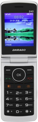 Darago 240 Flip Phone(Matt Gold,Gold) 1