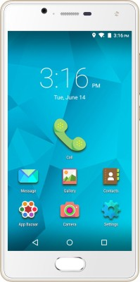 Micromax Canvas Unite 4 Plus (Champange, 16 GB)(2 GB RAM) at flipkart