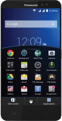 Panasonic Eluga S (Black, 8 GB)(1 GB RAM) 1