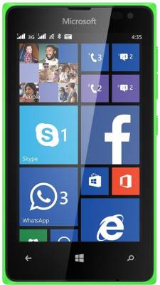 Microsoft Lumia 435 (Bright Green, 8 GB)