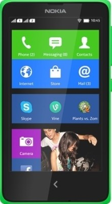 Nokia XPlus (Bright Green, 4 GB)(768 MB RAM)