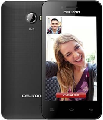 Celkon A400 Plus Dual Sim (Black)