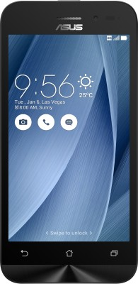 Asus Zenfone Go 4.5 LTE  Silver, 8   GB    1   GB RAM  Asus Mobiles available at Flipkart for Rs.6699