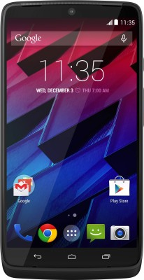 Motorola Moto Turbo 3GB RAM Black Mobile