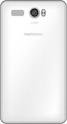 Karbonn A108 (White, 512 MB)