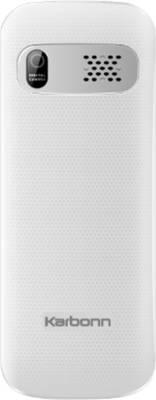 Karbonn K1 Rock (White & Silver)