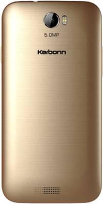 Karbonn AURA Dual Sim - Gold (Gold, 8 GB)