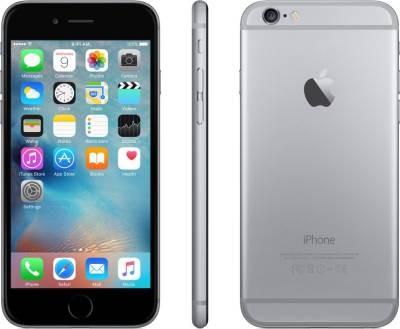 Apple iPhone 6 (Space Grey, 128 GB)