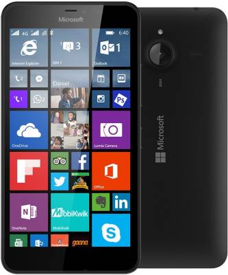 Microsoft Lumia 640 XL LTE (Black, 8 GB)