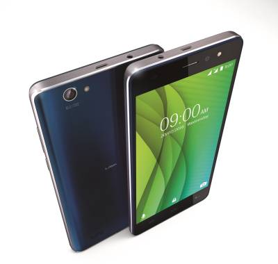 Lava X50 Plus (Blue and Silver, 32 GB)