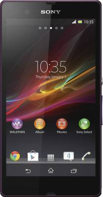 Sony Xperia Z (Purple, 16 GB)