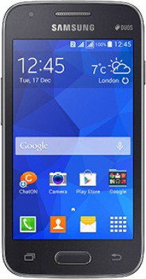Samsung Galaxy S Duos 3 (Charcoal Grey, 4 GB)(512 MB RAM) at flipkart