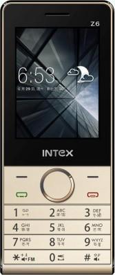 Intex Z6(Silver, Black)