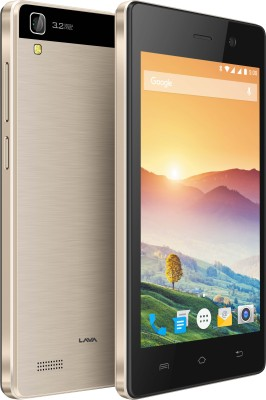 Lava Flair S1 (Champagne, 8 GB)(512 MB RAM)